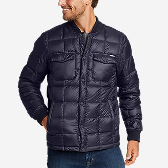 Eddie Bauer Men's Stratuslite Down Snap Jacket