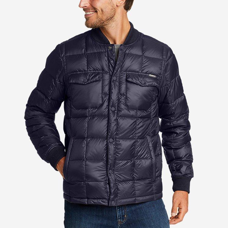 Eddie Bauer Men's Stratuslite Down Snap Jacket