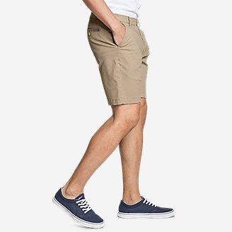 "Thumbnail View 3 - Men's Legend Wash Flex Chino 9"" Shorts"