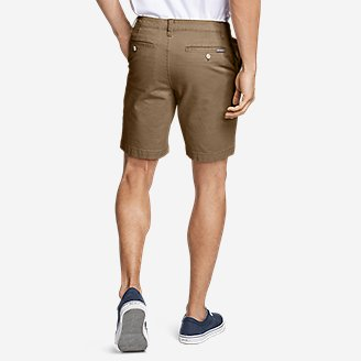"Thumbnail View 2 - Men's Legend Wash Flex Chino 9"" Shorts"