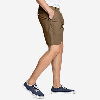 "Thumbnail View 3 - Men's Legend Wash Flex Chino 9"" Shorts"