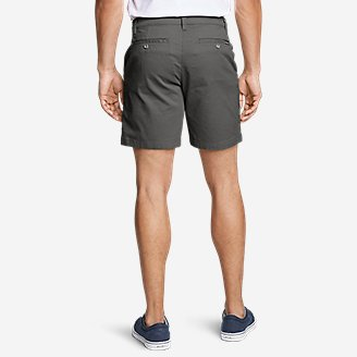 "Thumbnail View 2 - Men's Legend Wash Flex Chino 7"" Shorts"