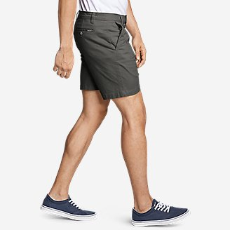 "Thumbnail View 3 - Men's Legend Wash Flex Chino 7"" Shorts"