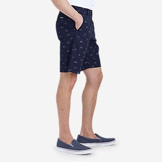 "Thumbnail View 3 - Men's Camano 9"" Shorts - Print"