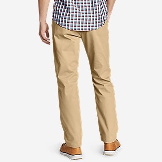 Thumbnail View 2 - Men's Flex Wrinkle-Resistant Sport Chinos - Relaxed