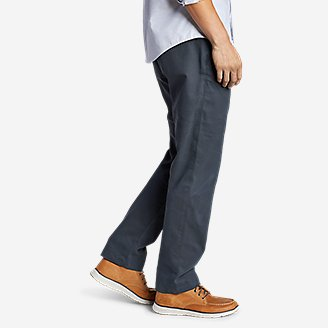 Thumbnail View 3 - Men's Flex Wrinkle-Resistant Sport Chinos - Relaxed
