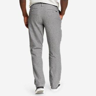 Thumbnail View 2 - Men's Larrabee Linen-Blend Pants