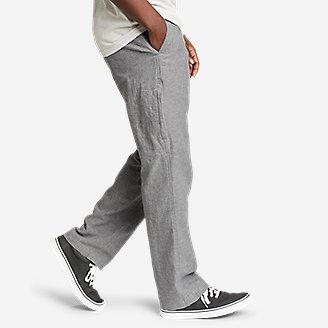 Thumbnail View 3 - Men's Larrabee Linen-Blend Pants