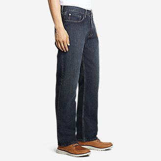Thumbnail View 3 - Men's Authentic Jeans - Relaxed Fit