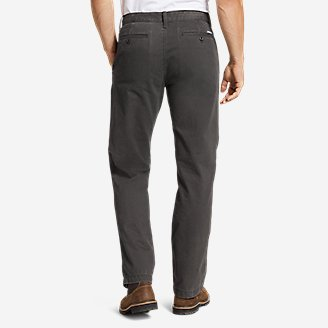 Thumbnail View 2 - Men's Legend Wash Chino Pants - Classic Fit