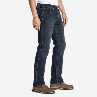 Thumbnail View 3 - Men's Authentic Jeans - Straight Fit