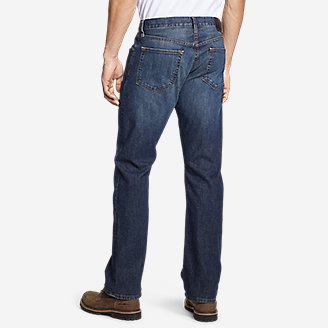 Thumbnail View 2 - Men's Flex Jeans - Straight Fit