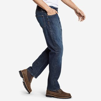 Thumbnail View 3 - Men's Flex Jeans - Straight Fit
