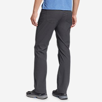 Thumbnail View 2 - Men's Horizon Guide Five-Pocket Jeans - Straight Fit