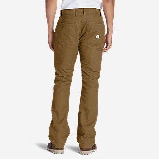 Thumbnail View 2 - Men's Lined Canvas Mountain Pants