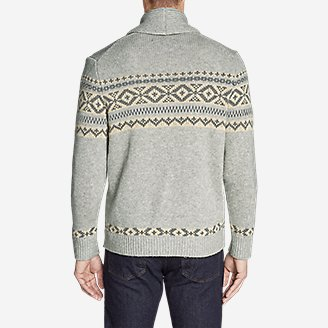 Thumbnail View 2 - Men's Snowbridge Cardigan