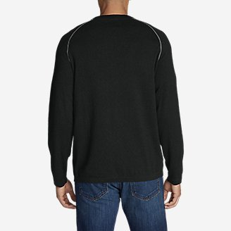 Thumbnail View 2 - Men's Talus Textured Crewneck Sweater