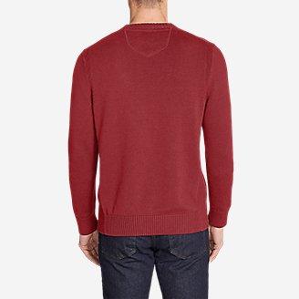 Thumbnail View 2 - Men's Signature Cotton Crew Sweater