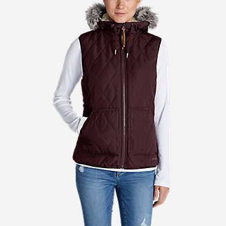 Thumbnail View 3 - Women's Snowfurry Hooded Vest