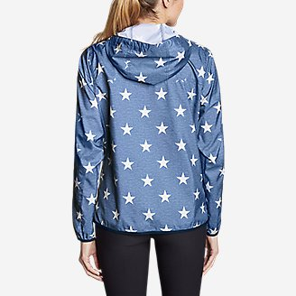 Thumbnail View 2 - Women's Momentum Light Jacket - Printed