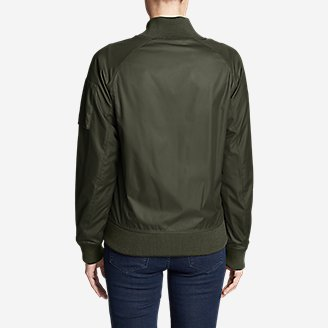 Thumbnail View 2 - Women's Winslow Fleece-Lined Bomber Jacket