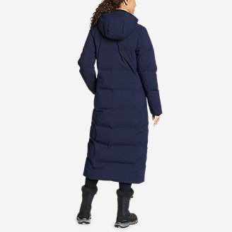 Thumbnail View 2 - Women's Glacier Peak Seamless Stretch Down Duffle Coat