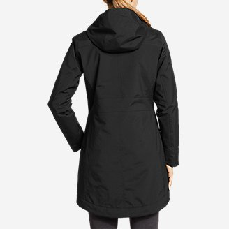 Thumbnail View 2 - Women's Eastside Insulated Waterproof Trench Coat