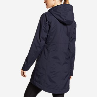 Thumbnail View 2 - Women's Eastide Insulated Waterproof Trench Coat