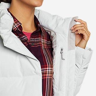 Thumbnail View 3 - Women's Glacier Peak Seamless Stretch Down Hooded Jacket