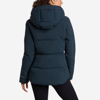 Thumbnail View 2 - Women's Glacier Peak Seamless Stretch Down Hooded Jacket