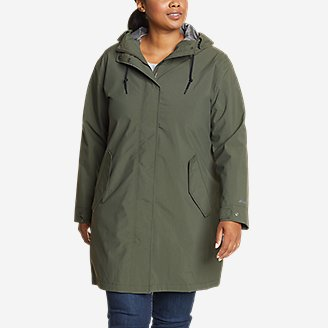 Thumbnail View 3 - Women's Port Townsend Trench Coat