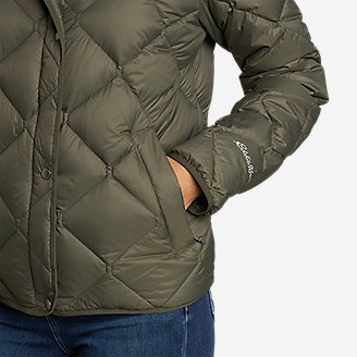 Thumbnail View 3 - Women's Stratuslite Quilted Down Jacket