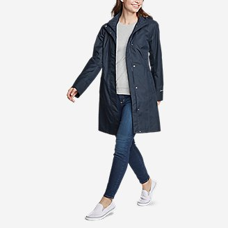 Thumbnail View 3 - Women's Girl on the Go® Trench Coat