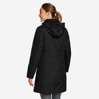 4528d916c ... Thumbnail View 2 - Women's Girl On The Go Insulated Trench Coat ...