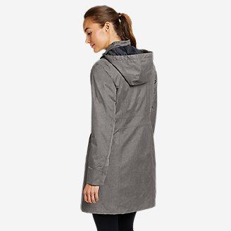 Thumbnail View 2 - Women's Girl On The Go Insulated Trench Coat