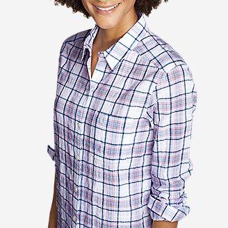 Thumbnail View 3 - Women's Packable Long-Sleeve Shirt