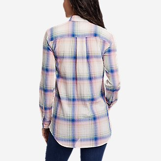 Thumbnail View 2 - Women's Packable Long-Sleeve Shirt
