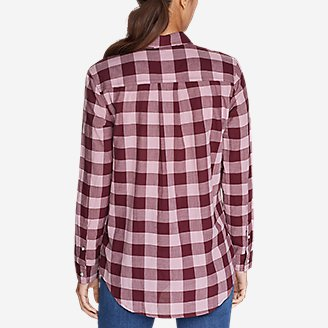 Thumbnail View 2 - Women's Boyfriend Packable Shirt