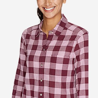 Thumbnail View 3 - Women's Boyfriend Packable Shirt