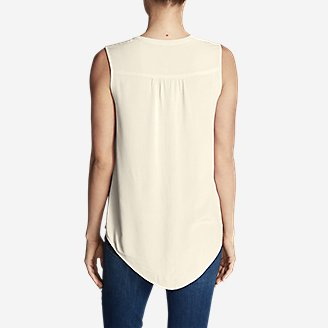Thumbnail View 2 - Women's Thistle Sleeveless Popover Top - Solid