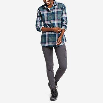 Thumbnail View 3 - Women's Stine's Favorite Flannel Boyfriend Shirt