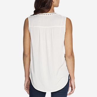 Thumbnail View 2 - Women's Sunrise Sleeveless Dobby Shirt