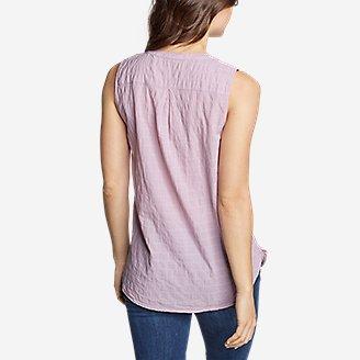 Thumbnail View 2 - Women's Packable Sleeveless Shirt - Boyfriend