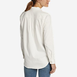 Thumbnail View 2 - Women's Vintage Denim Shirt - Release Hem
