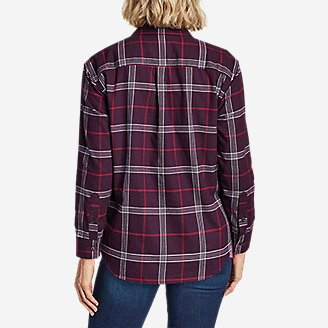 Thumbnail View 2 - Women's Stine's Favorite Flannel Popover Shirt