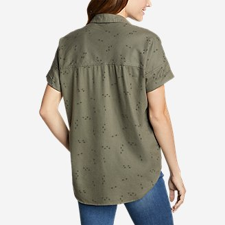 Thumbnail View 2 - Women's Wild River Flannel Short-Sleeve Shirt