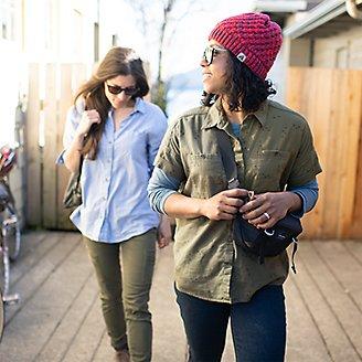 Thumbnail View 3 - Women's Wild River Flannel Short-Sleeve Shirt