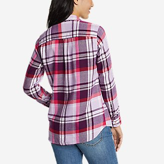 Thumbnail View 2 - Women's Firelight Flannel Shirt