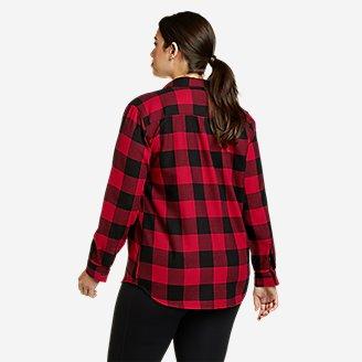 Thumbnail View 2 - Women's Firelight Flannel Shirt