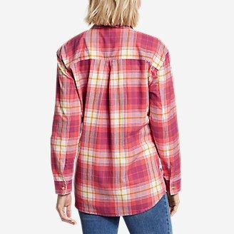 Thumbnail View 2 - Women's Stine's Favorite Spring Flannel 2.0 Shirt - Boyfriend
